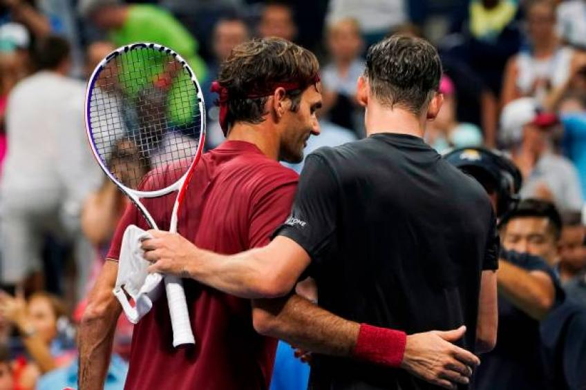John Millman shares when he started loving Roger Federer