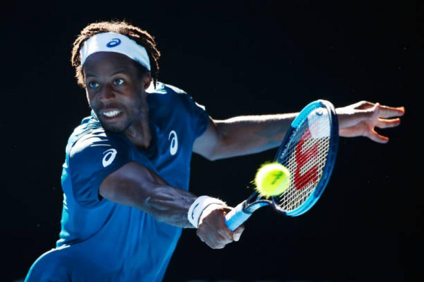 Gael Monfils withdraws from Auckland due to new injury
