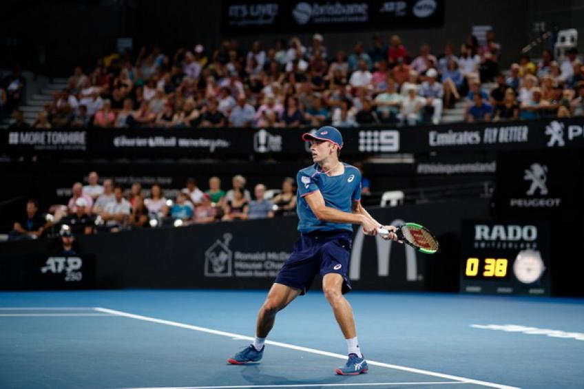 Alex de Minaur: 'Thompson is like a brother, it is not easy to play him'