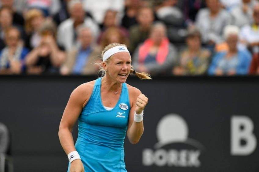 Kiki Bertens headlines the Libema Open field