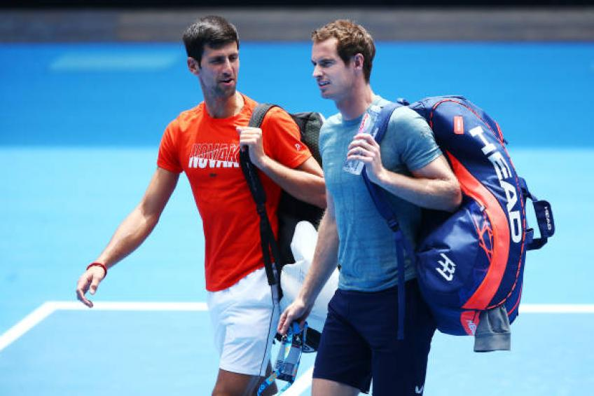 Andy Murray's retirement is shocking for me, says Novak Djokovic