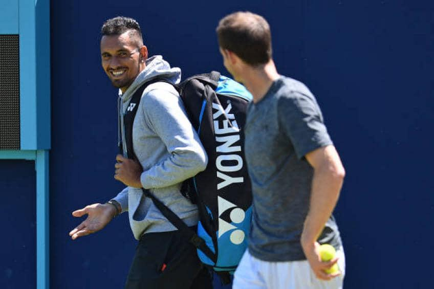 'I will be behind you' - Nick Kyrgios's emotional tribute to Andy Murray