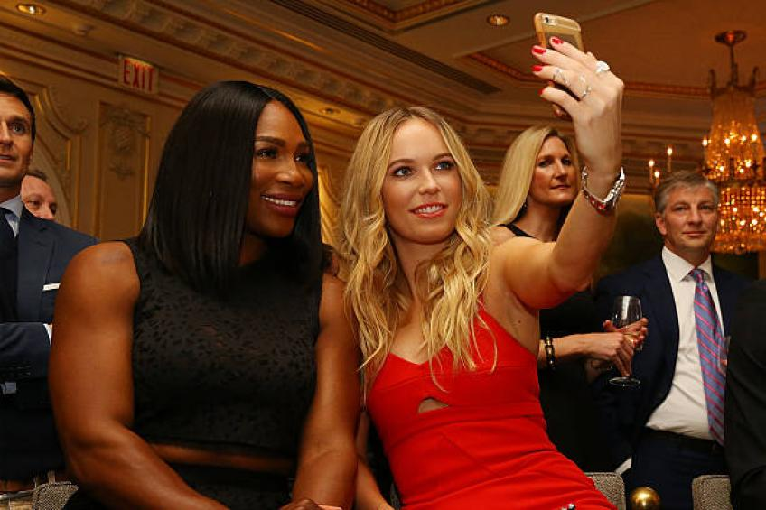 Wozniacki: 'Listening to Serena Williams was a big learning experience'