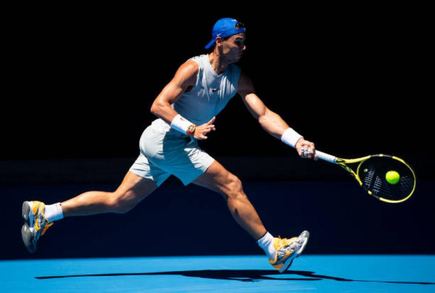 Rafael Nadal: If I didn't feel good, I would not be at the Australian Open