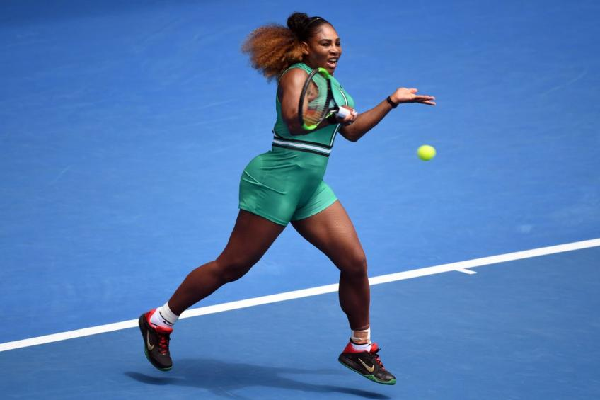 Australian Open Serena Williams Begins With Thumping One