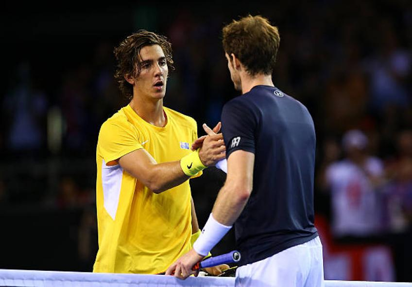 Thanasi Kokkinakis: 'I love Andy Murray, he is super nice'