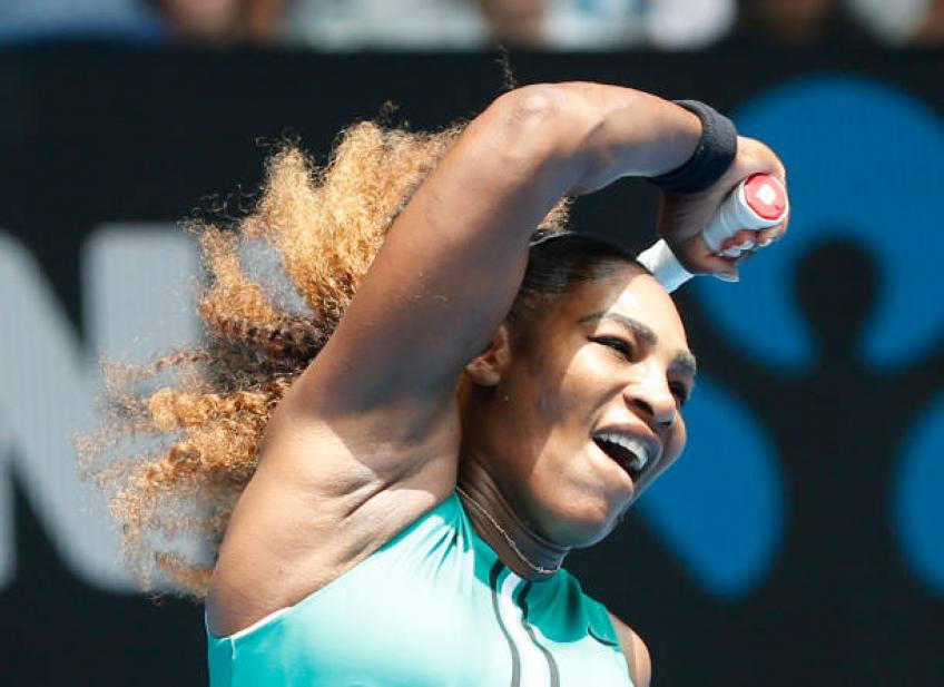 Serena Williams: People write Eugenie Bouchard off, but she keeps fighting