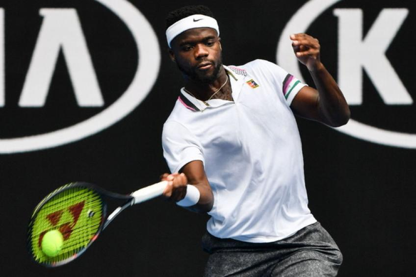 Frances Tiafoe defeats Kevin Anderson at Australian Open