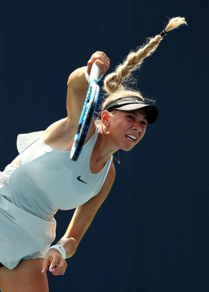 Is Amanda Anisimova getting to be a sizzling threat to WTA players?