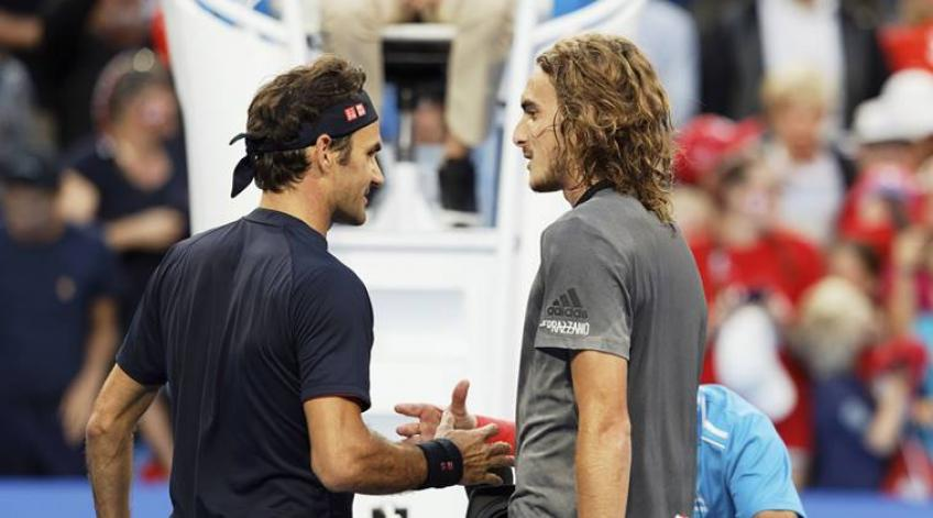 Excited Stefanos Tsitsipas ready to clash Roger Federer at Rod Laver Arena
