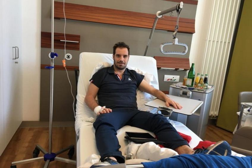 Richard Gasquet undergoes successful groin surgery, should be back for clay
