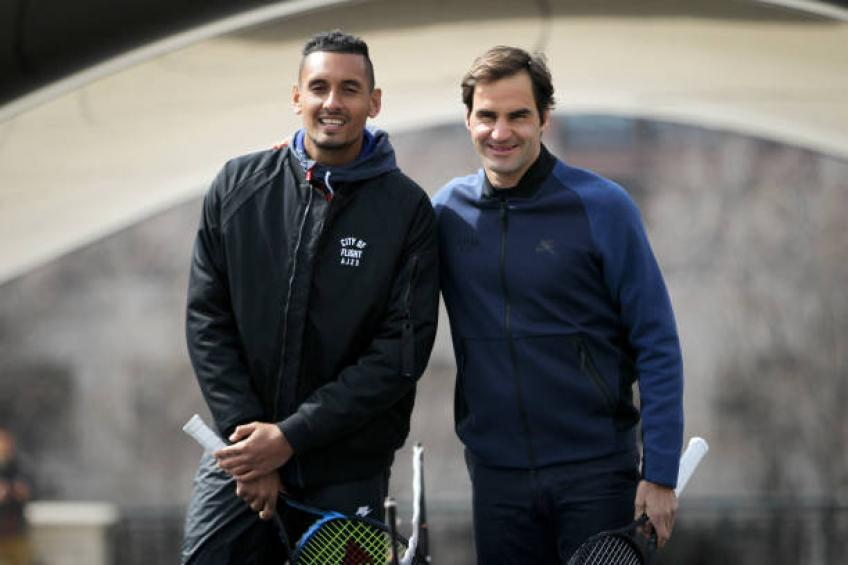 How it's like to face Roger Federer: Kyrgios discloses terrific feelings