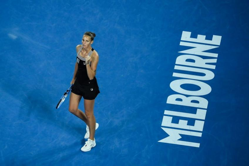 Czech seventh seed Karolina Pliskova powers into Australian Open quarters