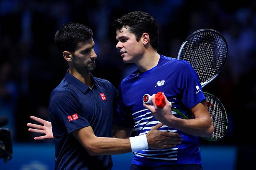 Milos Raonic watched Djokovic-Shapovalov match, praises Denis