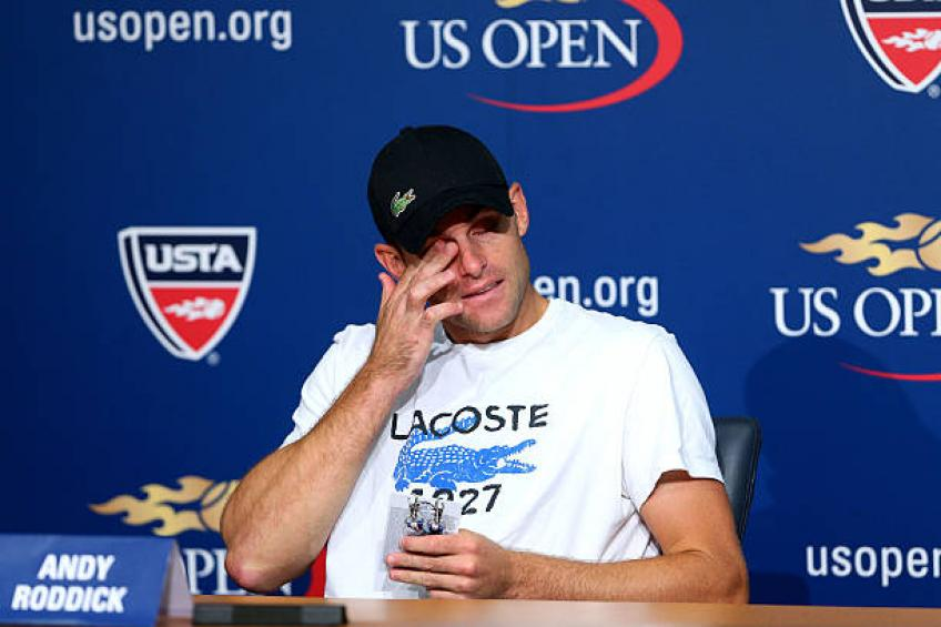 Andy Roddick recalls when he decided to retire from tennis