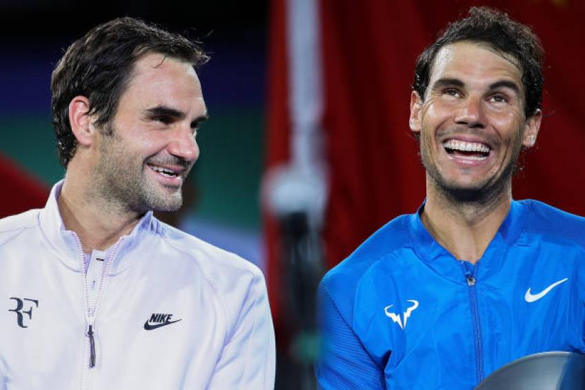 Rafael Nadal would be better than Roger Federer playing right-handed - Toni
