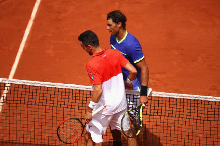 Bautista Agut went through very hard times, says Rafael Nadal's uncle
