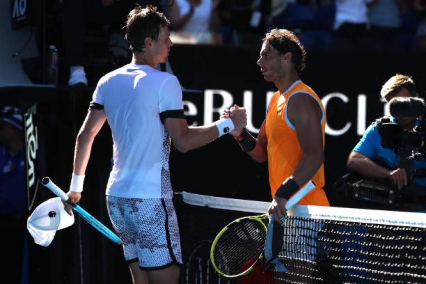 Berdych:'If I'd won a set vs Rafael Nadal,it would have turned interesting'