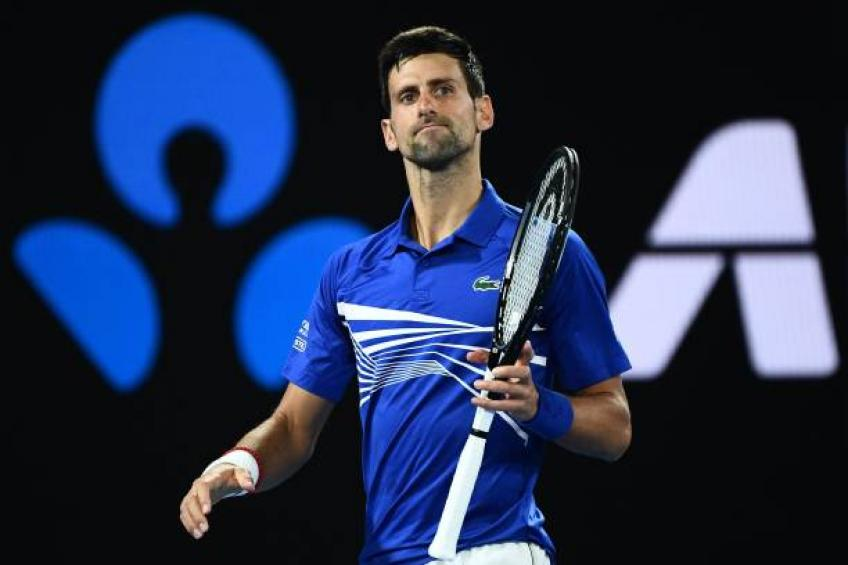 Djokovic through to Australian Open semis