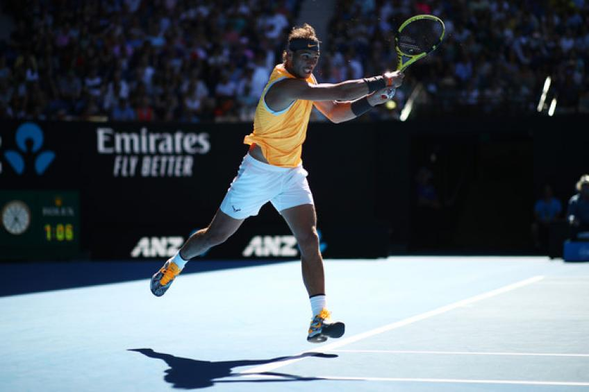 Australian Open: Rafael Nadal topples Frances Tiafoe to reach 30th GS semis