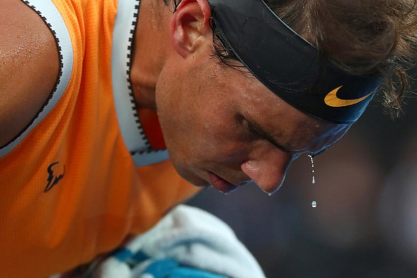 I was not more nervous than usual against Novak Djokovic, says Rafael Nadal
