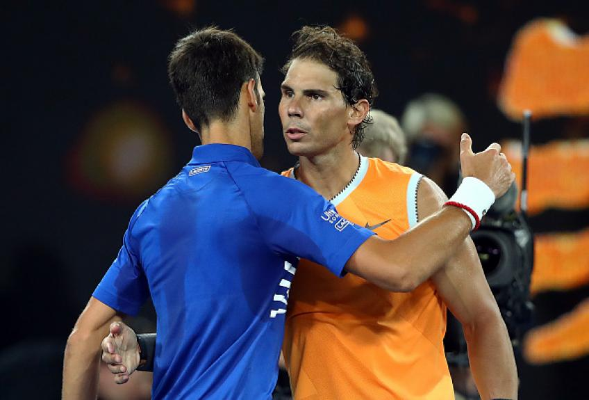 Rafael Nadal doesn't win mentally against Novak Djokovic, says coach Moya