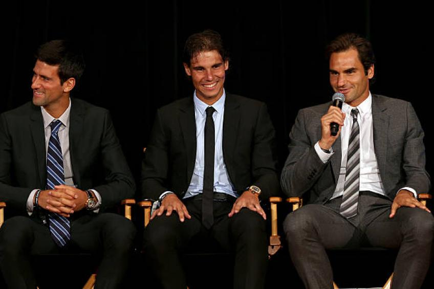 'Federer is getting older, Nadal will be at the top on clay. Djokovic..'