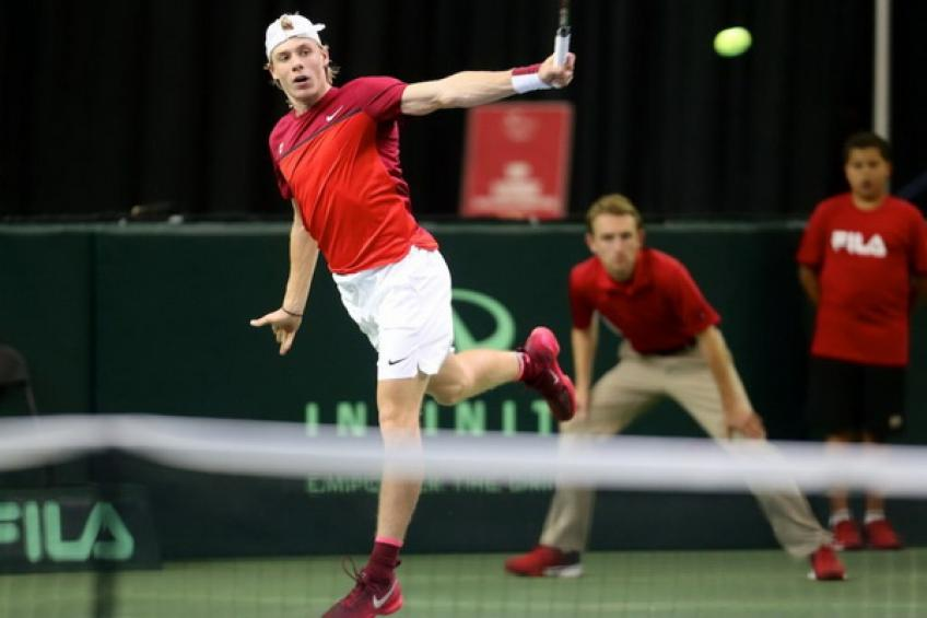 Davis Cup Preview: Shapovalov lead Canada. Thiem and Raonic are out