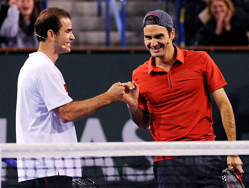 Sampras reveals the record that Federer, Djokovic, Nadal will never break