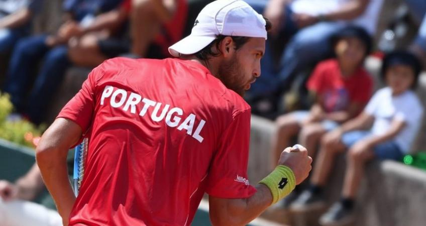 Portugal target to achieve their best-ever Davis Cup result this week