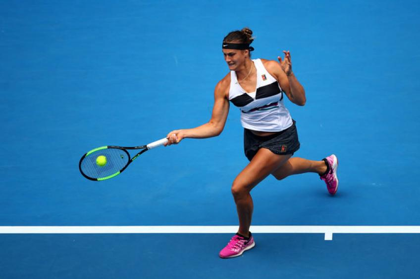 WTA St. Petersburg: Aryna Sabalenka and Kiki Bertens march on