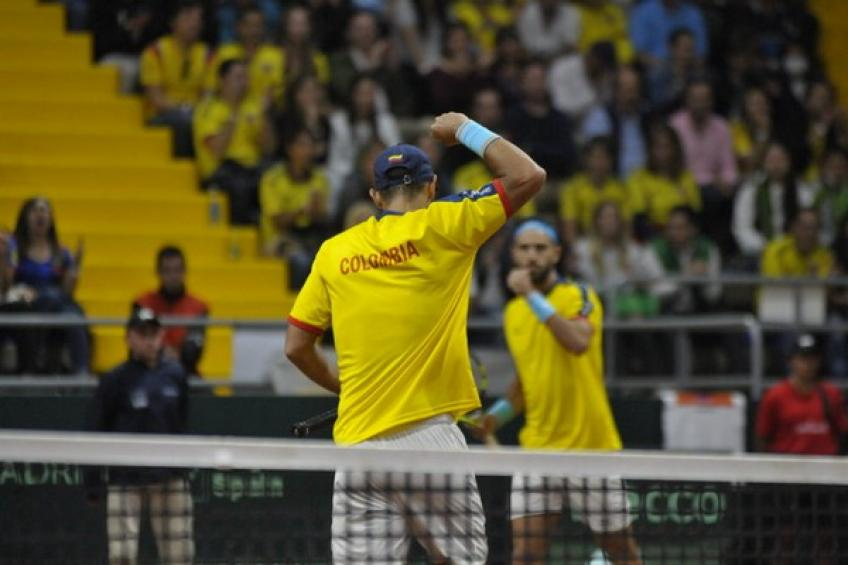 Davis Cup: Colombia eases past Sweden. Kimmer Coppejans topples Brazil