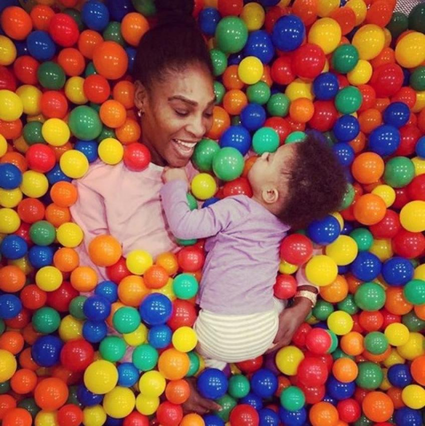 Serena Williams: I want my daughter Olympia to make the first move