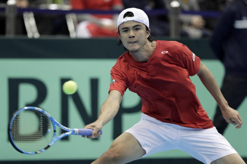 Japan's Taro Daniel on Davis Cup Finals: it's going to be party