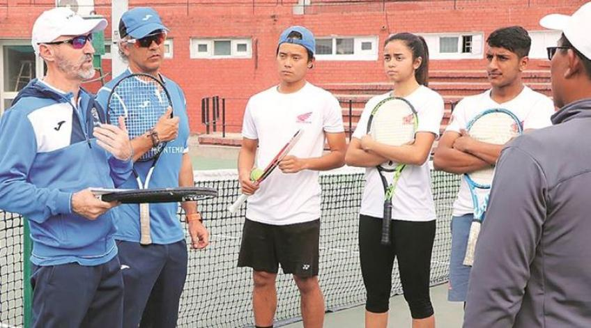 Chimo Perez Roman: Fitness levels in Indian and Spanish Juniors similar