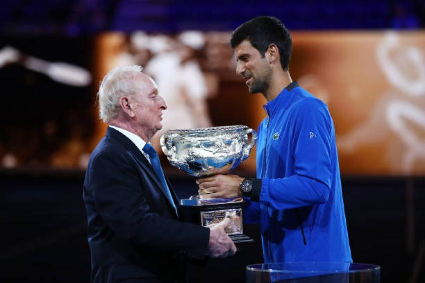 Marian Vajda shares private conversation with Rod Laver on Novak Djokovic