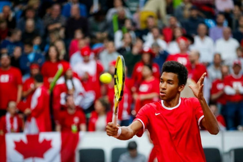 Felix Auger-Aliassime: 'Canada should have been ranked higher in DC draw'