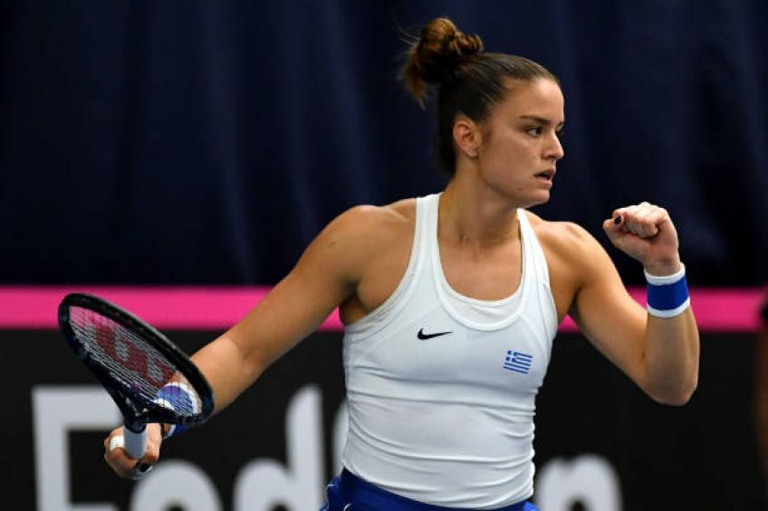 'The worst I have seen in my life' - Maria Sakkari blasts linesmen