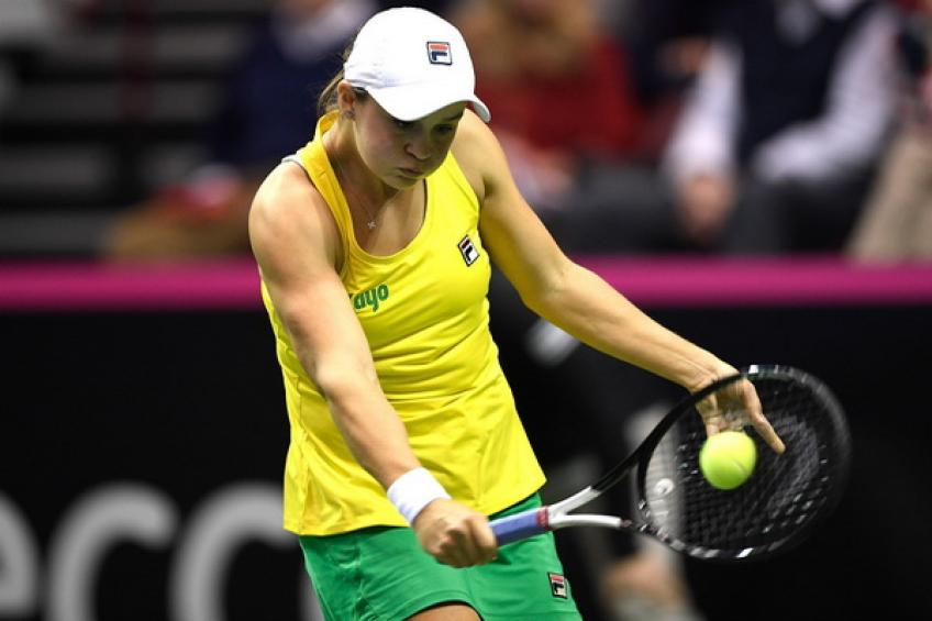 Fed Cup: Ashleigh Barty conquers Asheville as Australia upend USA