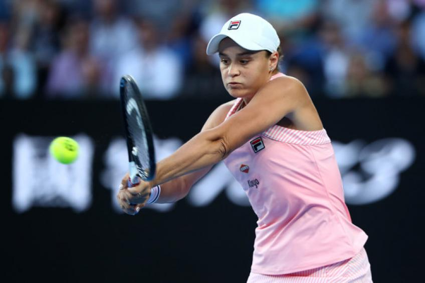Fed Cup hero Ashleigh Barty withdraws from Doha with a hip injury