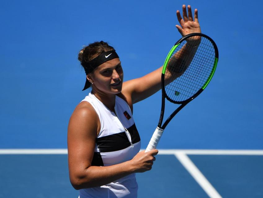 Aryna Sabalenka says she is keen to prove herself in matches