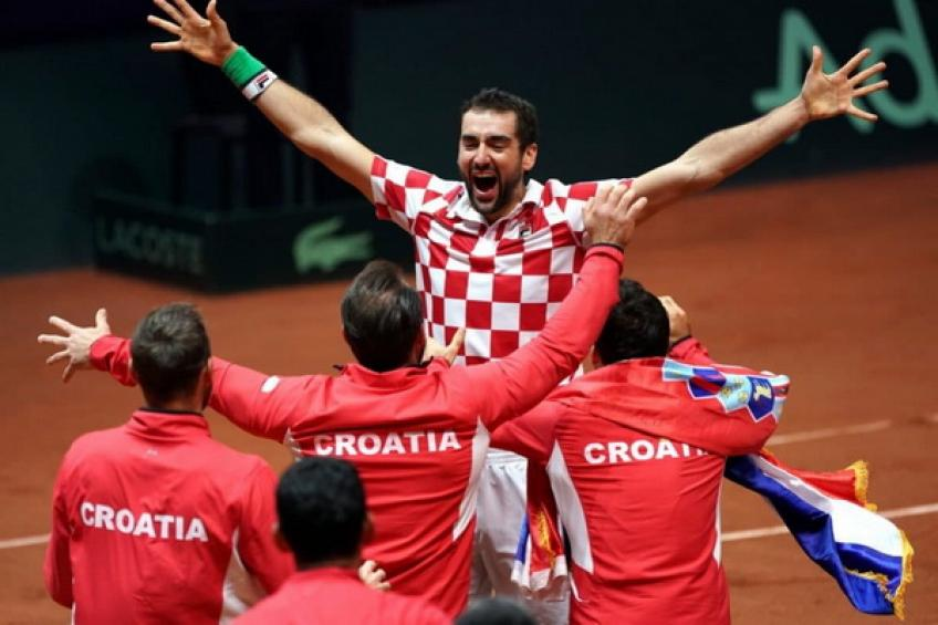Davis Cup Finals - DRAW: Spain, Croatia and Russia forge group of death!