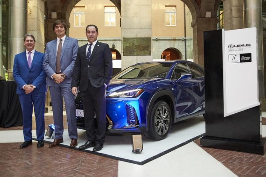 Davis Cup Madrid Finals name Lexus as the official car sponsor