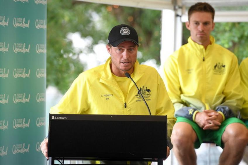 Lleyton Hewitt: 'We have to make guys motivated as much as possible'