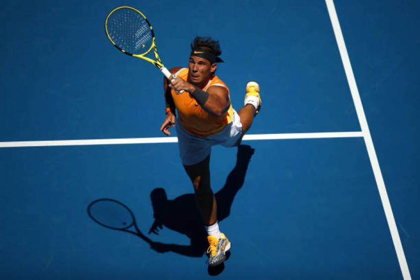 Rafael Nadal now gets less tired with new serve motion, says coach