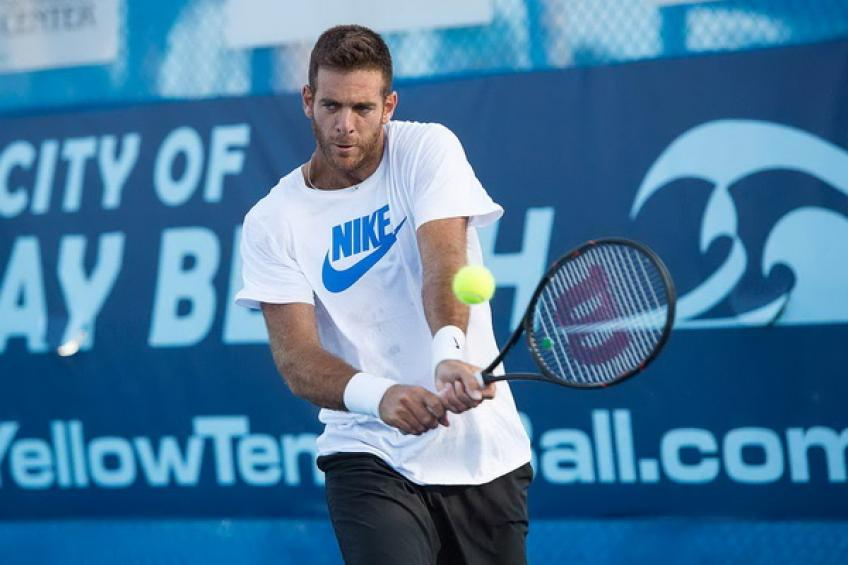 ATP Delray Beach - DRAW: Juan Martin del Potro returns! John Isner to play