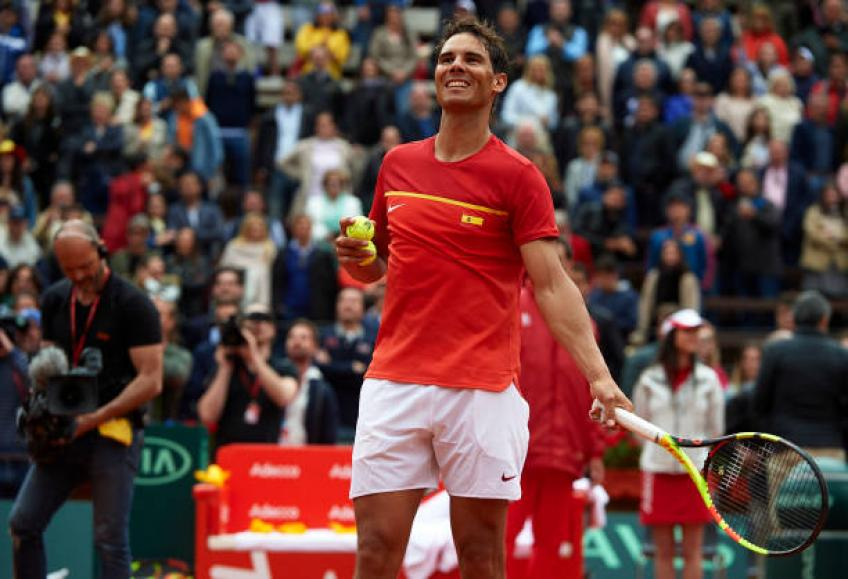 Davis Cup success does not depend on Rafael Nadal, says ITF Chief