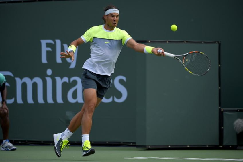 Rafael Nadal launches the first ever Eisenhower Cup at Indian Wells