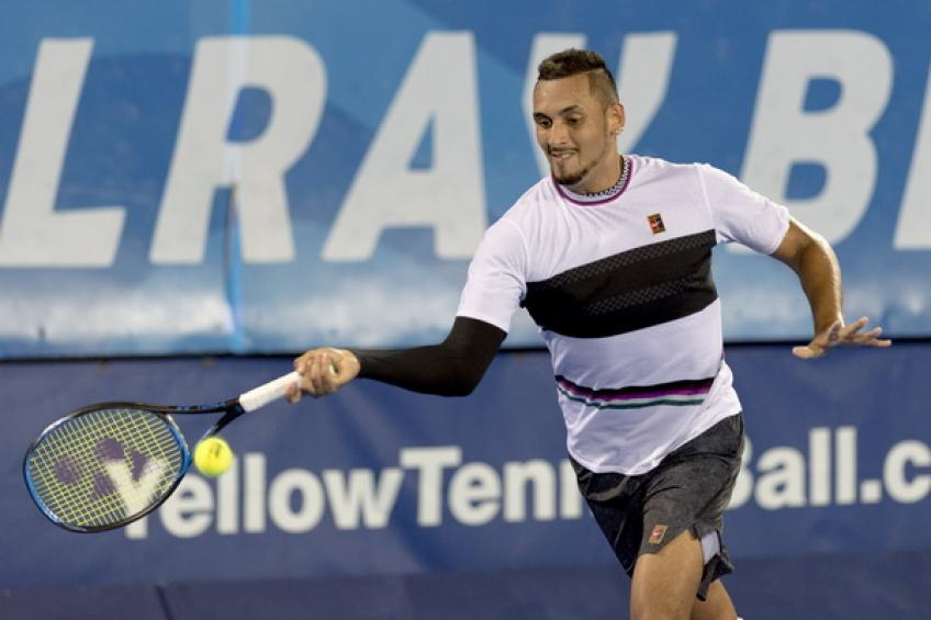 ATP Delray Beach: Nick Kyrgios edges John Millman. Harris and Istomin win