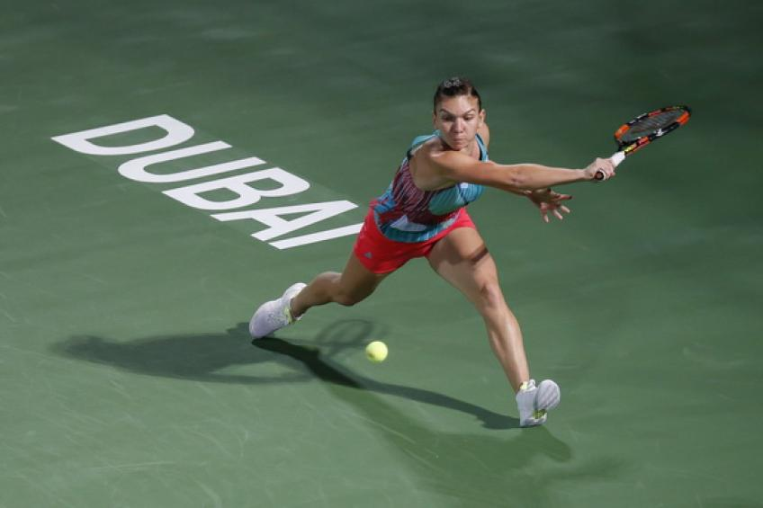 Bencic stuns Halep for second major Dubai scalp